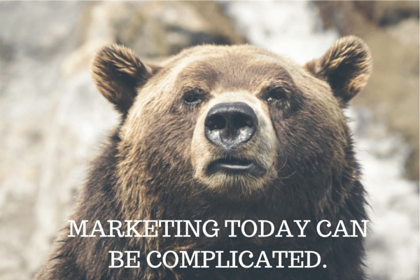 Marketing today can be complicated.